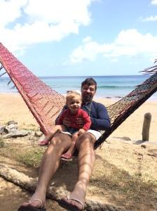 Praia do Boldró na barraca do Gerson